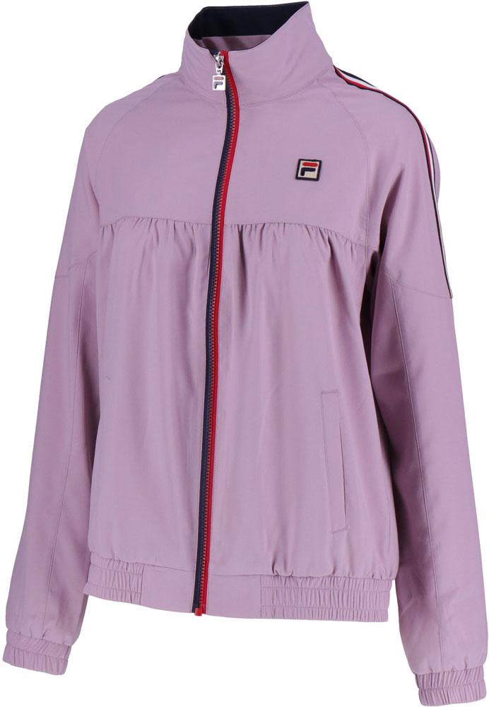 【ラッキーシール対象】FILA(フィラ)テニスウインドウェアウインドアップジャケットVL1910ボンボンピンク