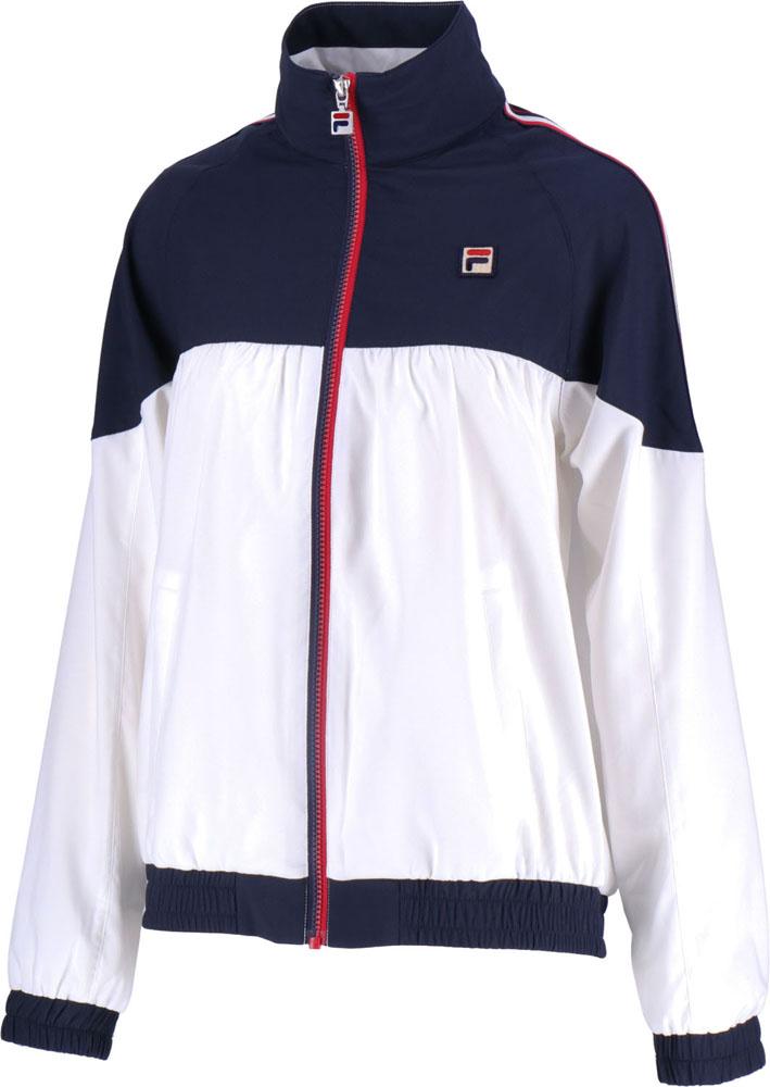 【ラッキーシール対象】FILA(フィラ)テニスウインドウェアウインドアップジャケットVL1910フィラネイビー