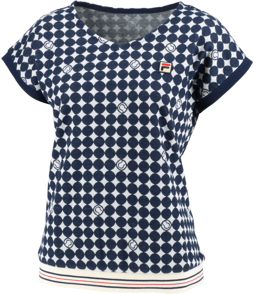 FILA(フィラ)テニスゲームシャツ レディースVL2033