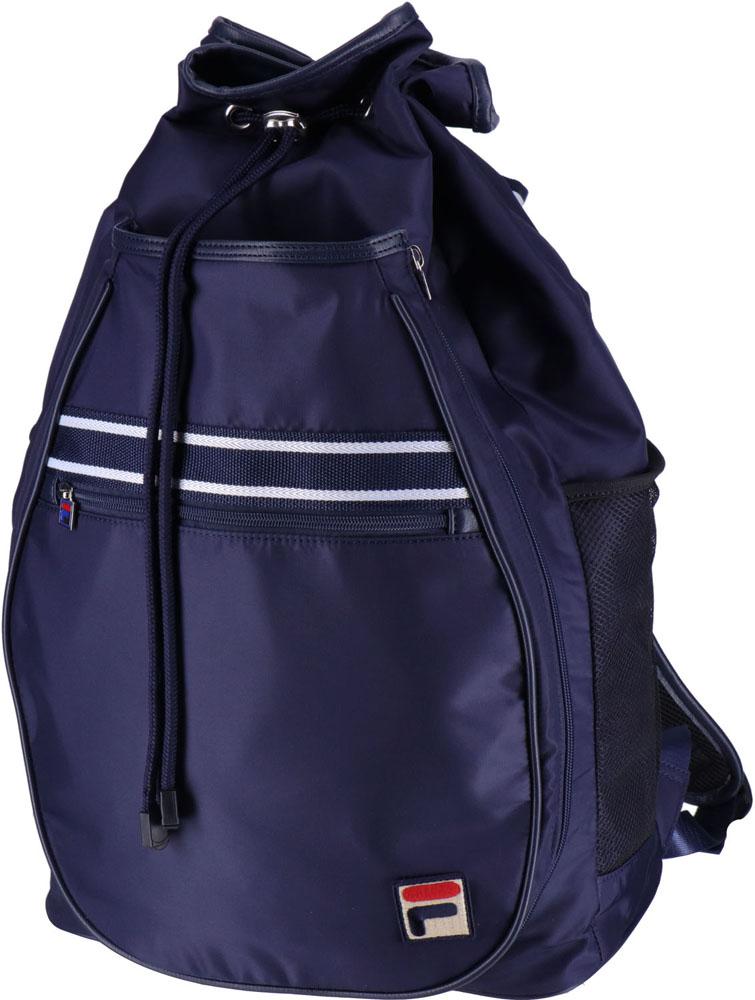 【ラッキーシール対象】FILA(フィラ)テニスバッグバックパックVL9174フィラネイビー
