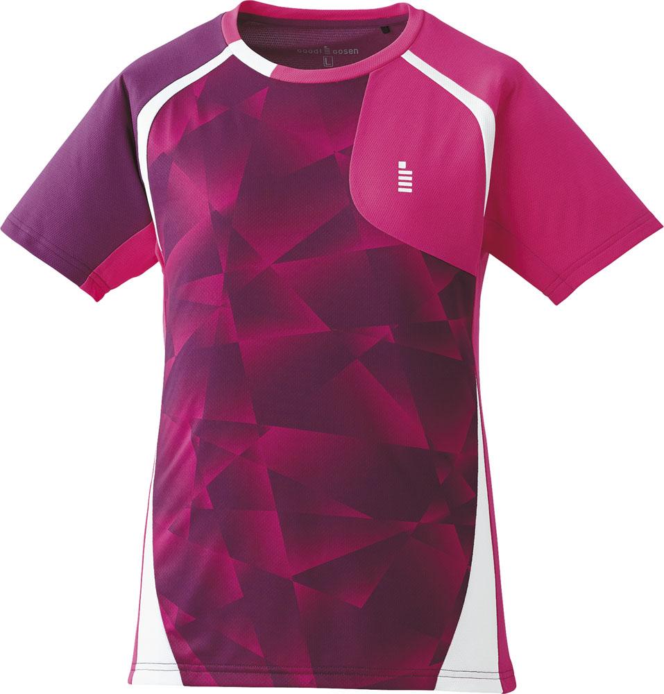 GOSEN(ゴーセン)テニス【レディース テニス・バドミントンウェア】 ゲームシャツT1705