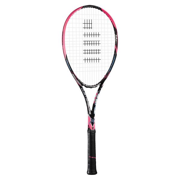【ラッキーシール対象】GOSEN(ゴーセン)テニスラケットカスタムエッジ タイプ XSRCETXショッキングピンク