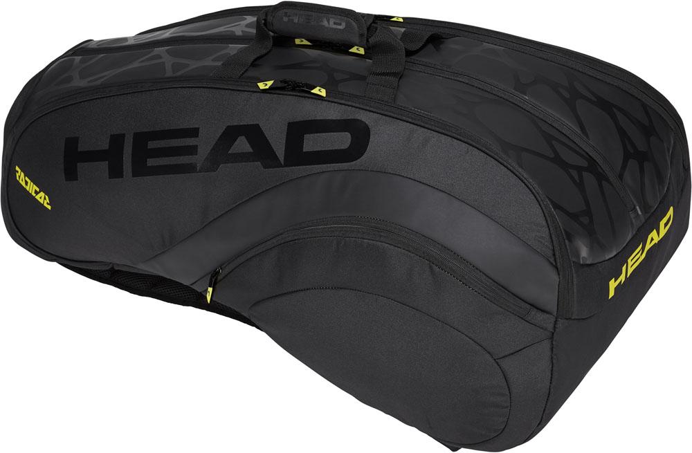 【ラッキーシール対象】HEAD(ヘッド)テニスバッグRADICAL LTD 12R MONSTERCOMBI ラジカルリミテッド 12 モンスターコンビ283898BKYW