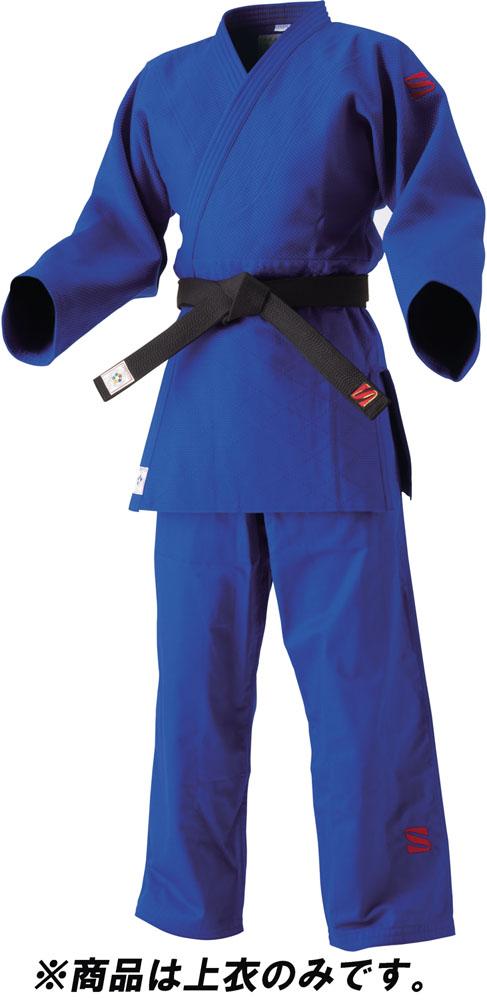 【ラッキーシール対象】KUSAKURA(クザクラ)格闘技ゲームシャツ・パンツ【男女兼用 柔道衣(上衣のみ)】 IJF・全日本柔道連盟認定柔道衣(新規格) レギュラーサイズ 5 上衣のみJNEXC5