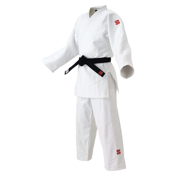 【ラッキーシール対象】KUSAKURA(クザクラ)格闘技武道衣国内・国際選手用柔道着 上衣・ズボン ホワイト JOF45YFJOF45YF