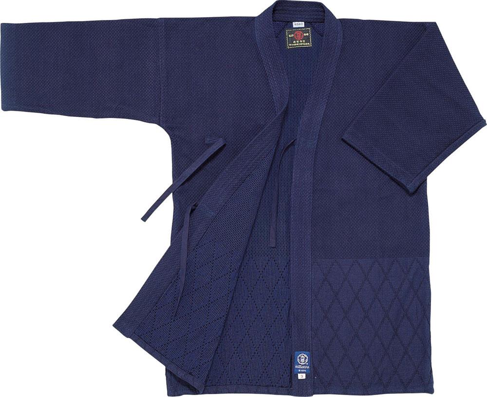 【ラッキーシール対象】KUSAKURA(クザクラ)格闘技武道衣特上正藍二重織 4号KOA24