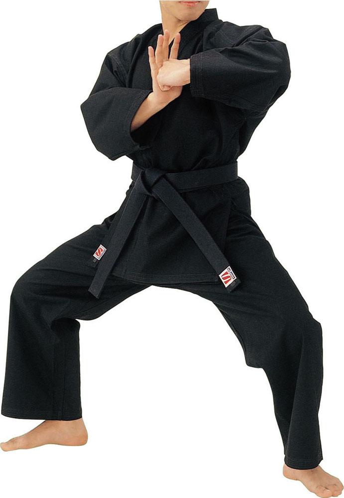 【ラッキーシール対象】KUSAKURA(クザクラ)格闘技武道衣黒 11 号空手着 5 号セット R3N5R3N5