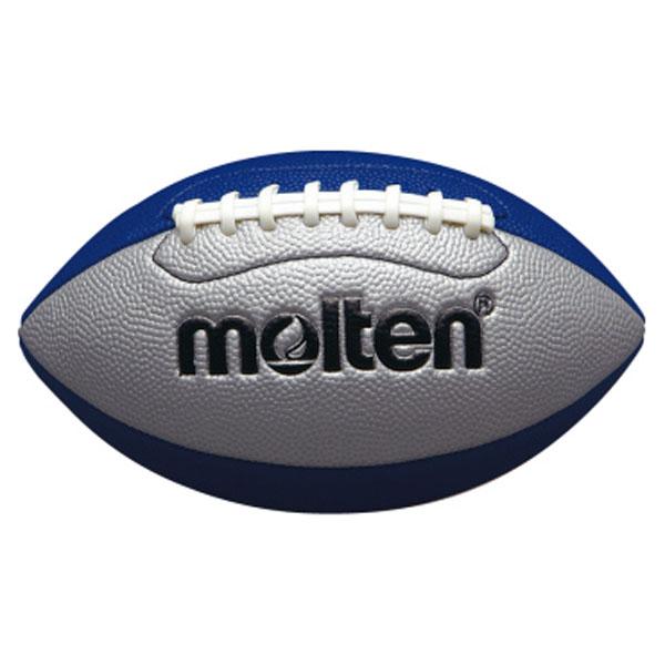 モルテン Molten ボール シルバー×ブルーQ3C2500SB モデル着用&注目アイテム フラッグフットボールミニ 即納最大半額