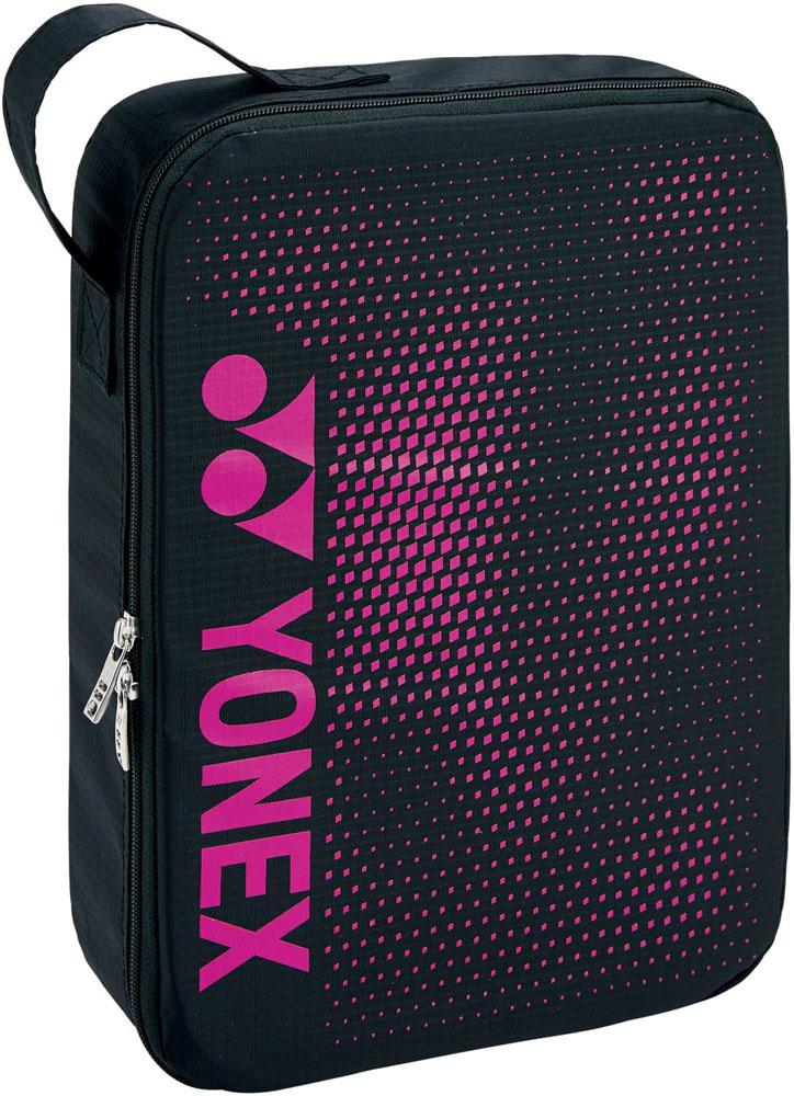 Yonex ヨネックス お求めやすく価格改定 テニス バッグ ピンク 2020モデル ブラック ヨネックステニスランドリーポーチLBAG2096L181