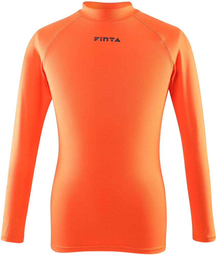 FINTA フィンタ サッカー 定番から日本未入荷 ゲームシャツ パンツ サッカーJr.ハイネックインナーシャツ 限定タイムセール ジュニアFTW7028061 オレンジ