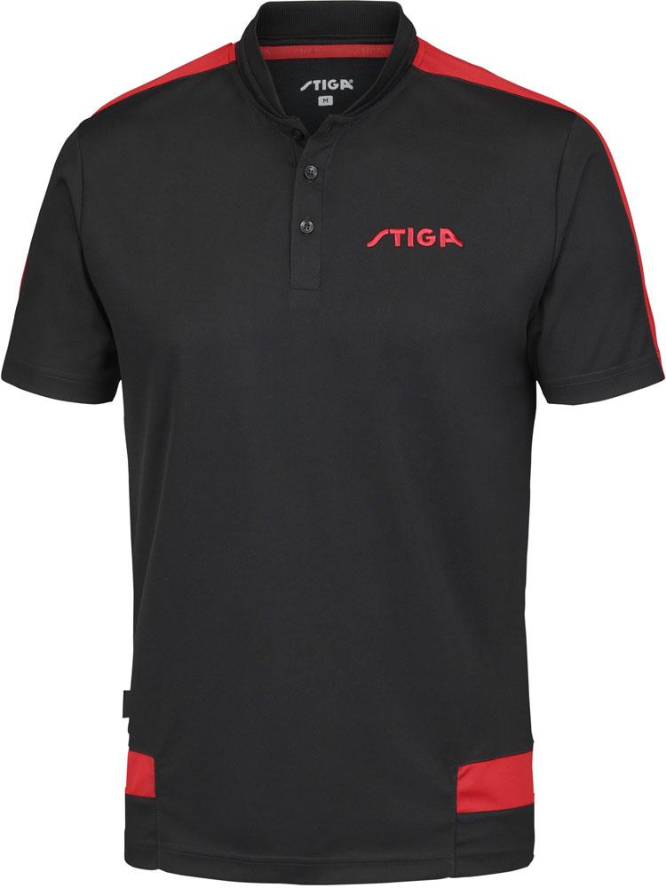 STIGA(スティガ)卓球卓球ユニフォーム CREATIVE SHIRT(クリエイティブシャツ) ブラック XL1854391507