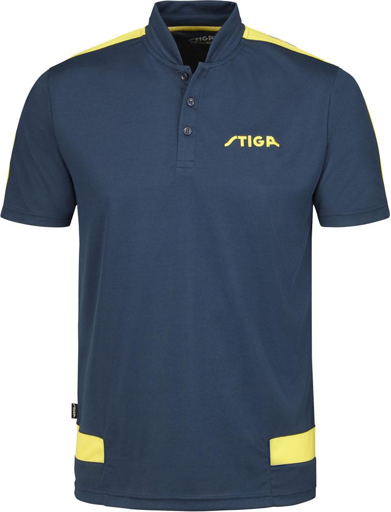 STIGA(スティガ)卓球卓球ユニフォーム CREATIVE SHIRT(クリエイティブシャツ) ピーコートブルー XL1854396807