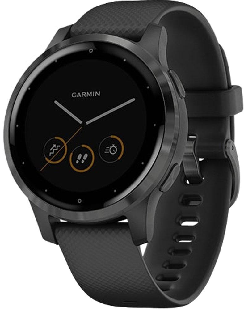 GARMIN(ガーミン)アウトドアヴィヴォアクティブ4S ブラック×スレート vivoactive 4S Black×Slate0100217217