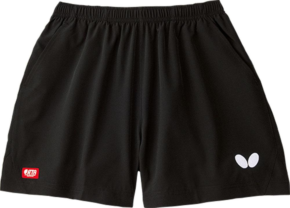 バタフライ Butterfly 卓球 ゲームシャツ パンツ ブラック 10日から11日2時 P最大10倍 卓球用ウェア 安全 男女兼用 パンツ51900278 Butterfly卓球 ファルサルト 新色追加して再販