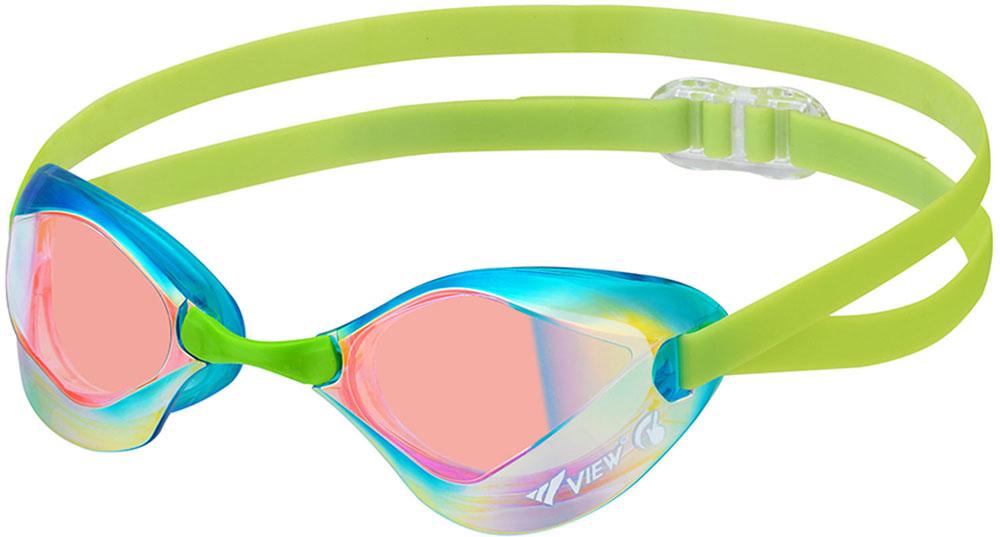 VIEW(ビュー)水泳水球競技VIEW スイムゴーグル BladeF ミラーレンズV122SAMAMSHD