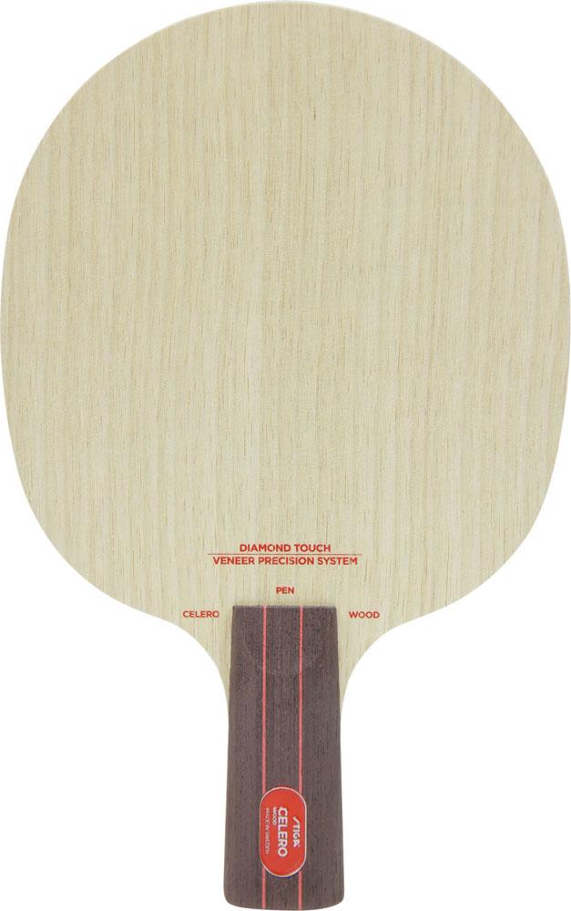 STIGA(スティガ)卓球中国式ラケット CELERO WOOD PENHOLDER(セレロウッド ペンホルダー)107265
