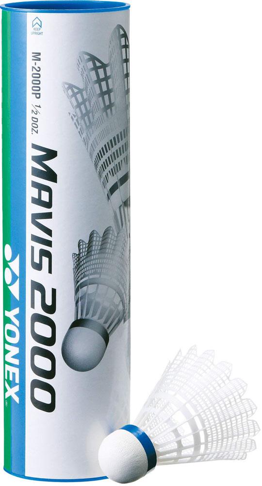 Yonex(ヨネックス)バドミントンナイロンシャトルコック MAVIS 2000P(メイビス2000P)6ヶ入りM2000P000