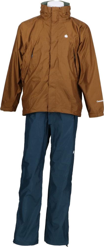 Canadian East(カナディアンイースト)アウトドアRain Wear Men's [レインウェア メンズ] (上下セット) CEW7011SCEW7011SBRNV