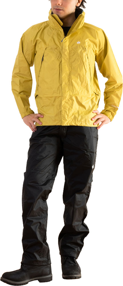 Canadian East(カナディアンイースト)アウトドアRain Wear Men's [レインウェア メンズ] (上下セット) CEW7011SCEW7011SMSBK