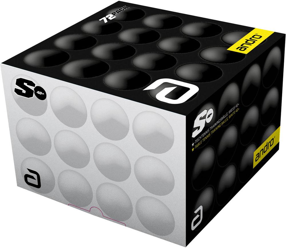 andro アンドロ 卓球 ボール 5☆好評 25日限定P最大10倍 40mm 卓球卓球練習用 特別セール品 トレーニングボールS 6ダース入り162230