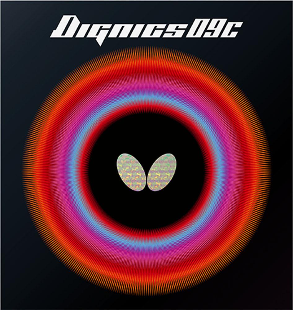 バタフライ 即納送料無料 Butterfly 卓球 ガット ラバー 最安値挑戦 レッド 25日限定P最大10倍 09C ディグニクス09C06070006 Butterfly卓球ハイテンション裏ラバー DIGNICS