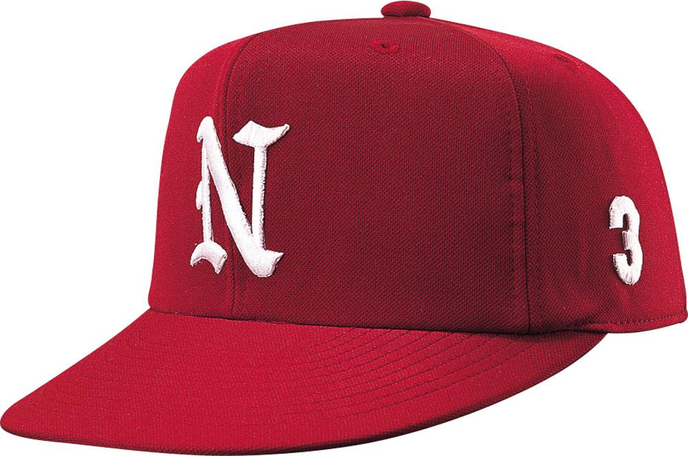 ナショナルハット NATIONAL 出群 HAT 帽子 エンジ オールニットN7522E ジュニア HAT男女兼用 贈呈 野球帽子