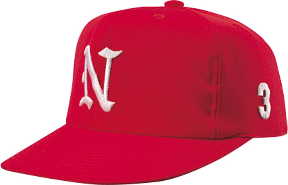 即出荷 ナショナルハット NATIONAL HAT 在庫処分 帽子 レッド ジュニア 野球帽子 HAT男女兼用 オールニットN7522R