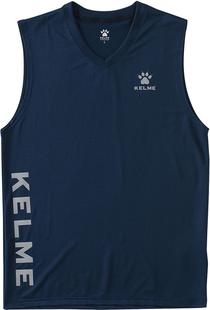 KELME ケレメ フットサル ゲームシャツ 往復送料無料 新作販売 ネイビー フットサルインナーシャツKC20S126107 パンツ