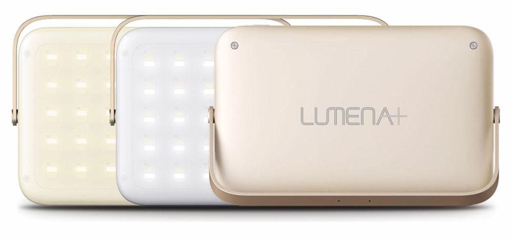 ゴールドLUMENAGOD 充電式LEDランタン LUMENA+ ルーメナー ノーブランドアウトドアLUMENA プラス