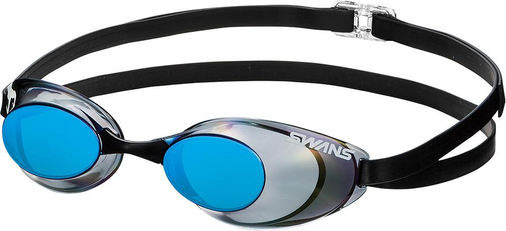 SWANS(スワンズ) 水泳水球競技 ゴーグル・サングラス 321_スモークブルー SWANS(スワンズ)水泳水球競技スイミングゴーグルSR10MSMBL