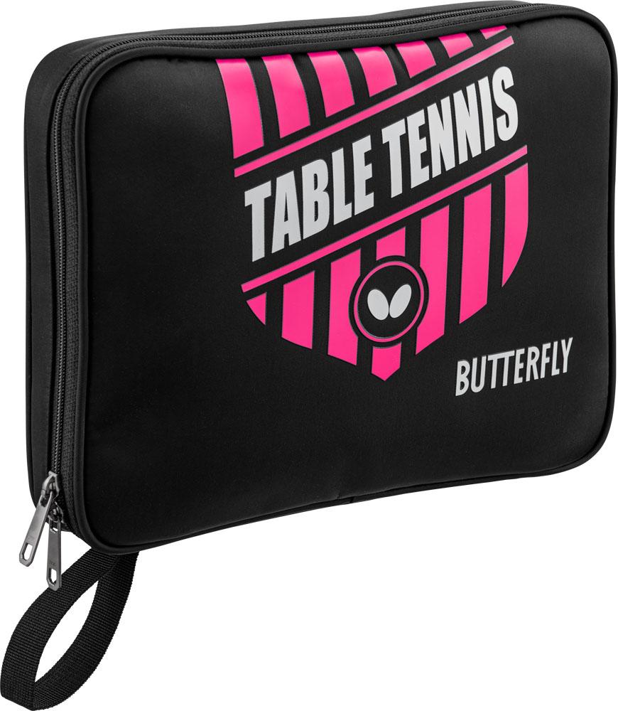 正規取扱店 バタフライ Butterfly 卓球 ケース 20日限定P最大10倍 ロゼ 卓球エンブレム ケース63150Z016 税込