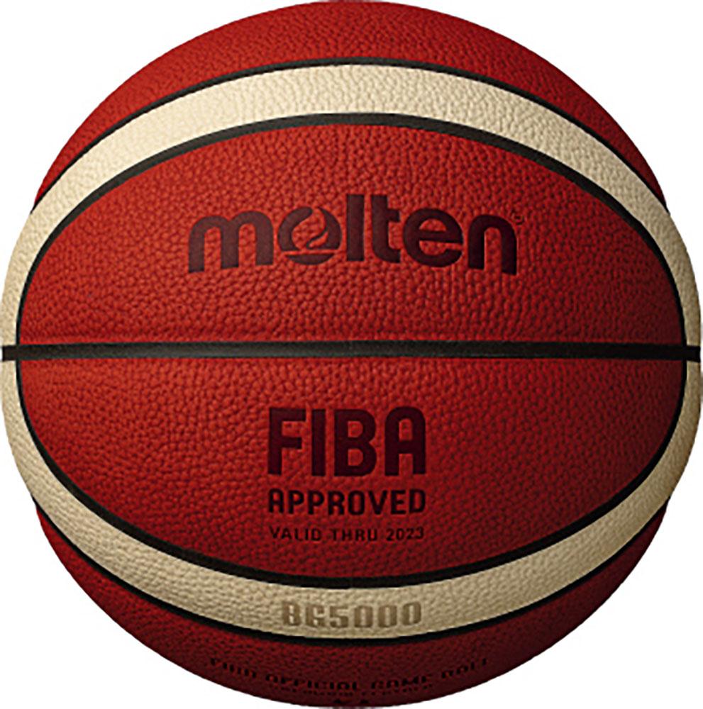 モルテン Molten バスケット ボール 激安特価品 バスケットバスケットボール 7号球 OFFICIAL GAME BALL BG5000 オレンジ×アイボリーB7G5000 正規激安 FIBA