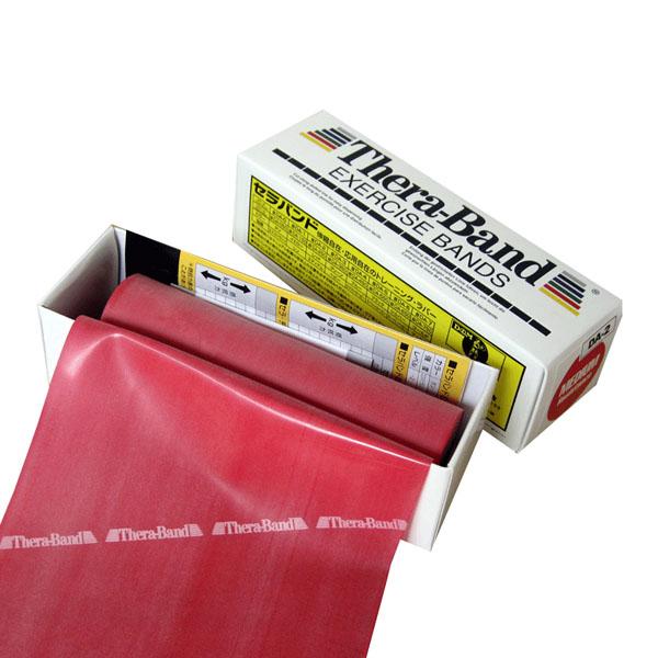 OUTLET SALE D M ボディケア 器具 備品 セール Mセラバンド 6ヤード ゼロ レッド ミディアム 5.4m TB2 0