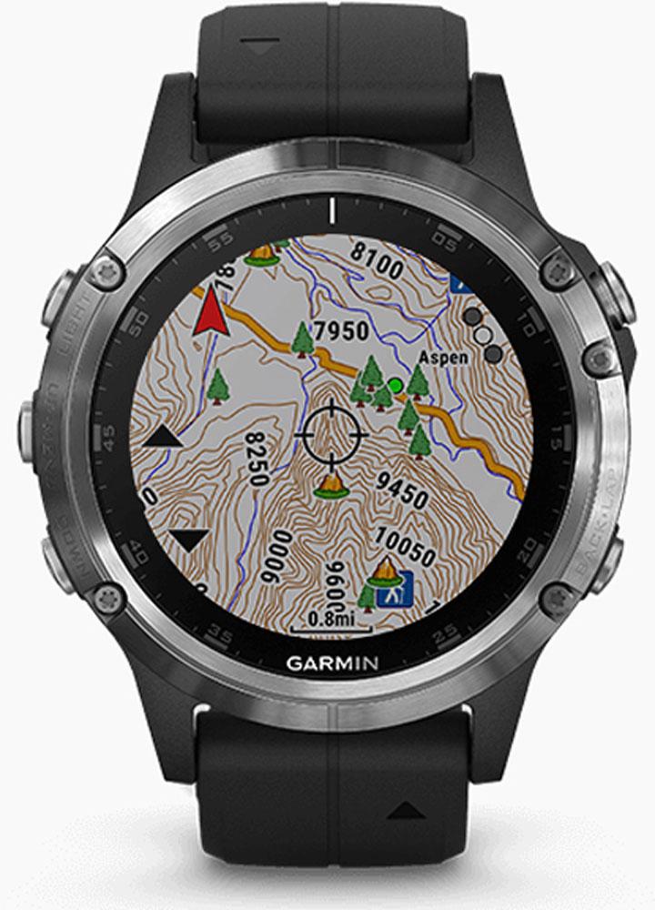 【ラッキーシール対象】GARMIN(ガーミン)アウトドアグッズその他GARMIN(ガーミン) GPSスマートウオッチ Fenix5 Plus サファイヤブラック GarminPay MUSIC機能搭載0100198878