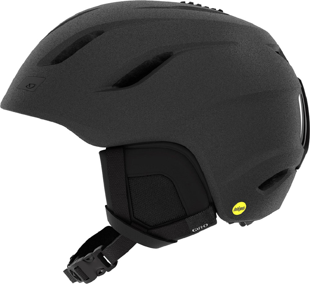 【ラッキーシール対象】GIRO(ジロ)スノーボードヘルメットスキー ヘルメット Nine ( ナイン ) アジアンフィット マットグラファイト Lサイズ7093784
