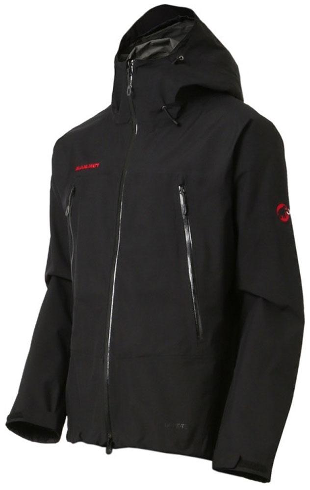 【ラッキーシール対象】MAMMUT(マムート)アウトドアレインウェアクライメイトレインスーツ(メンズ) [CLIMATE Rain-Suits Men] 1010-26550101026550BLK-BLK