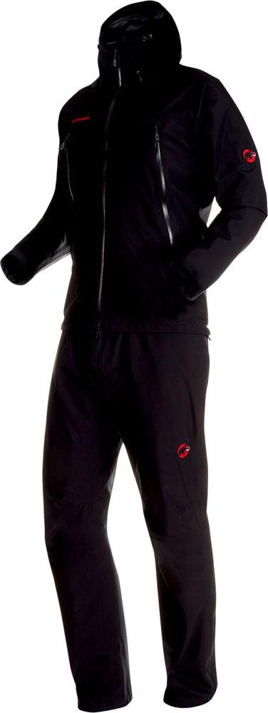 MAMMUT(マムート)アウトドアレインウェアCLIMATE RainーSuit AF Men 1010-26551101026551BLACK-BLACK