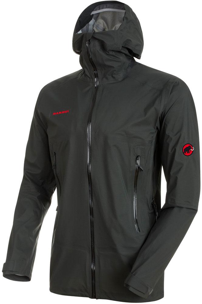 MAMMUT(マムート)アウトドアウインドウェアマサオライトHSフーデッドジャケット AF (アジアンフィット/メンズ) [Masao Light HS Hooded Jacket AF Men] 1010-26630101026630GRAPHITE