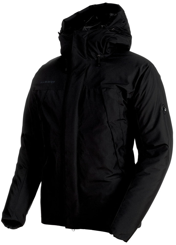 MAMMUT(マムート)アウトドアウインドウェアCrater So Thermo Hooded Jacket Men101100450BLACK