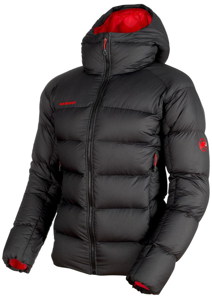 【ラッキーシール対象】MAMMUT(マムート)アウトドアウインドウェアMeron IN Hooded Jacket AF Men101300740BLACK-MAGMA