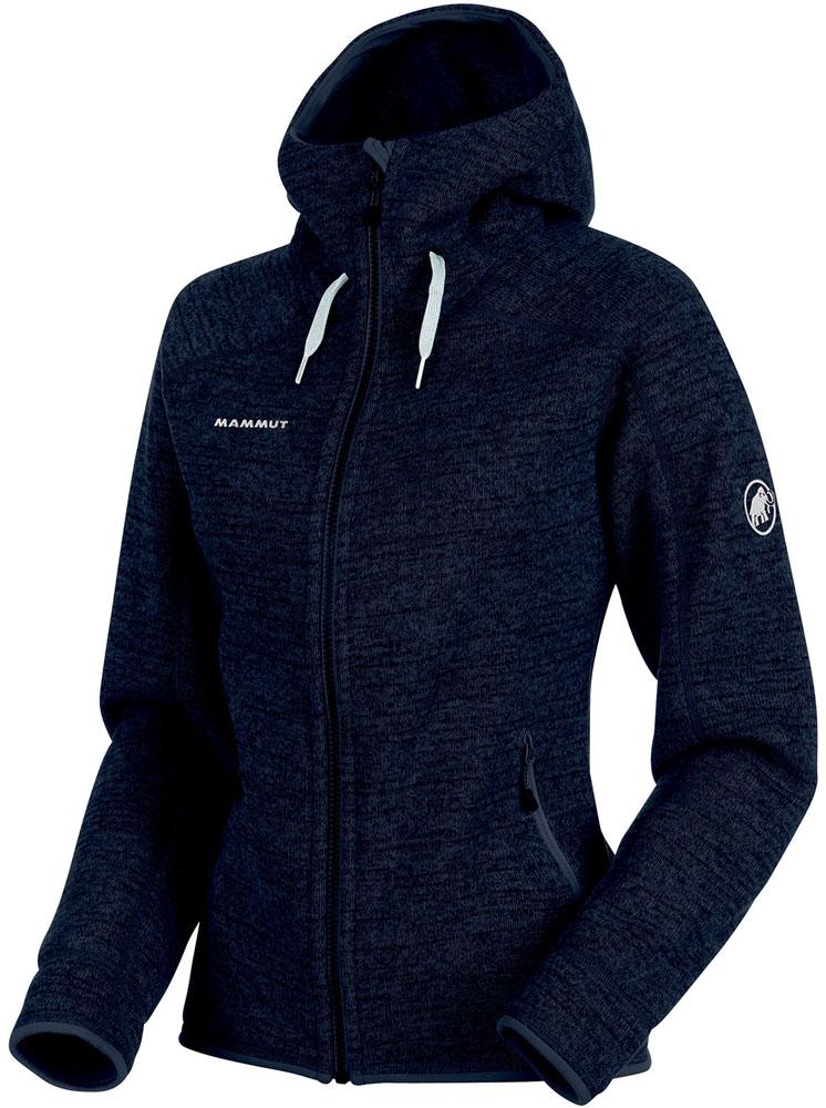 【ラッキーシール対象】MAMMUT(マムート)アウトドアウインドウェアArctic ML Hooded Jacket Women101415703AMARINE MELAN