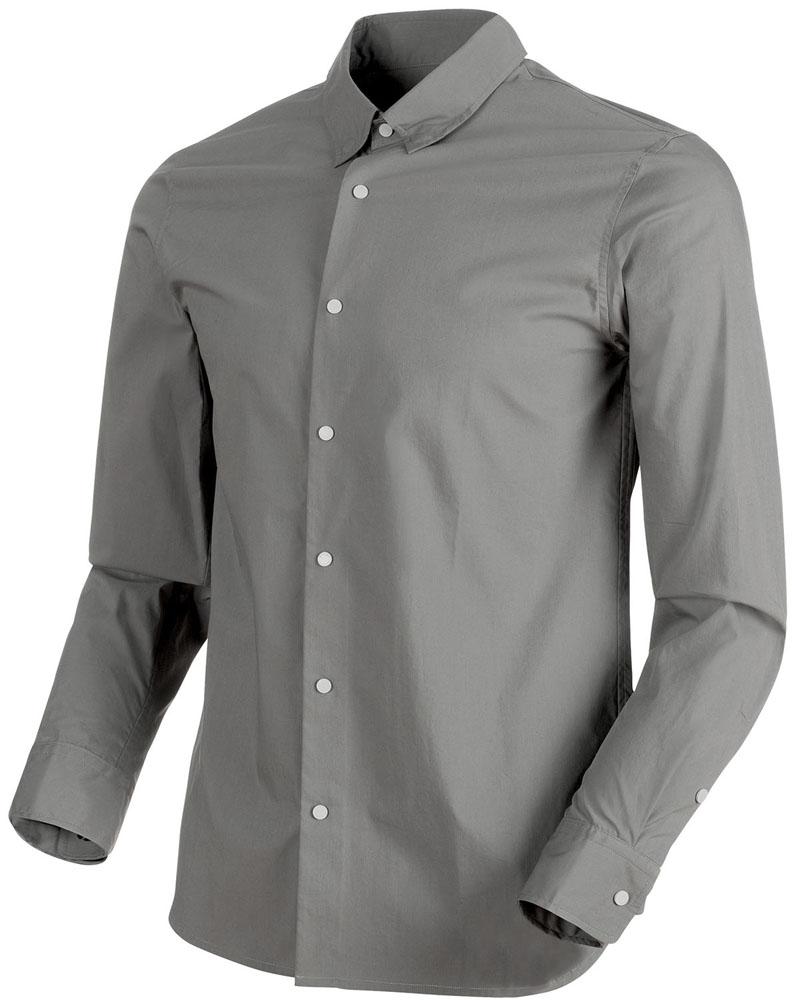 【ラッキーシール対象】MAMMUT(マムート)アウトドア登山ウェアCHALK Shirt Men101500200TITANIUM