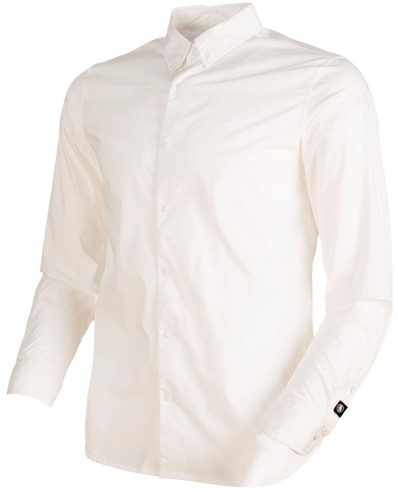 【ラッキーシール対象】MAMMUT(マムート)アウトドア登山ウェアCHALK Shirt Men101500200WHITE