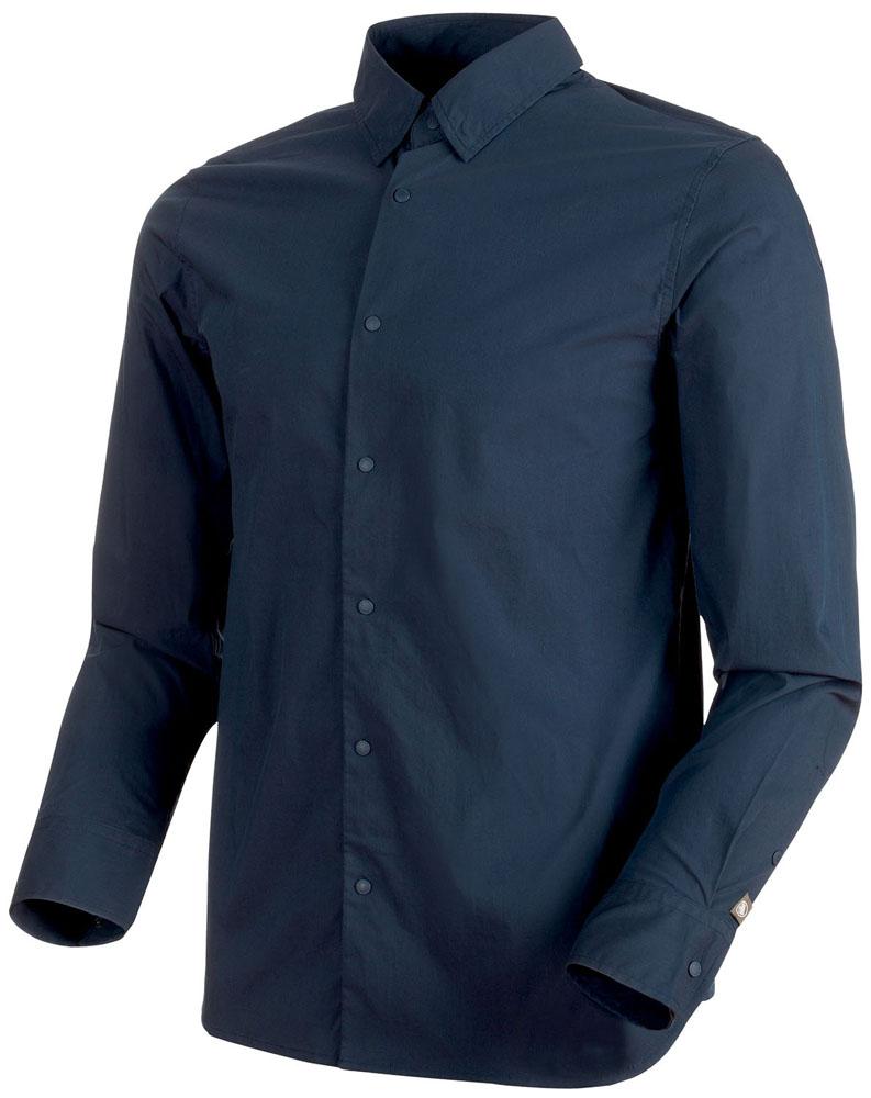【ラッキーシール対象】MAMMUT(マムート)アウトドア登山ウェアCHALK Shirt Men101500200MARINE