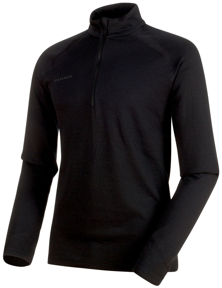 MAMMUT(マムート)アウトドアTシャツPerformance Thermal Zip Long Sleeve Men101600090PHANTOM