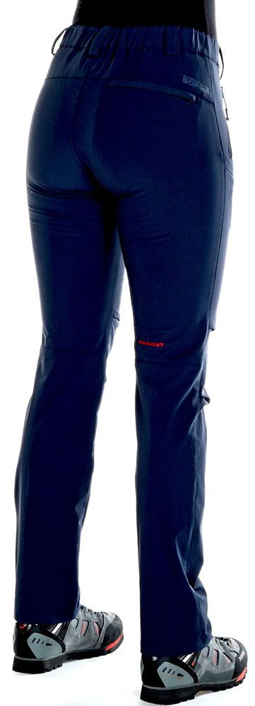 MAMMUT(マムート)アウトドアウインドウェアSOFtech TREKKERS Pants Women102009770AMARINE