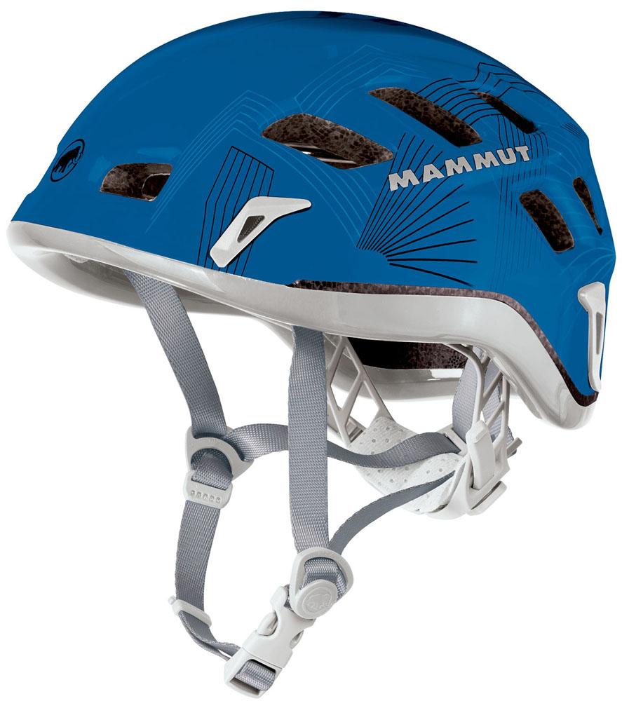 【ラッキーシール対象】MAMMUT(マムート)アウトドアヘルメットROCK RIDER222000130D CYAN-SMOKE