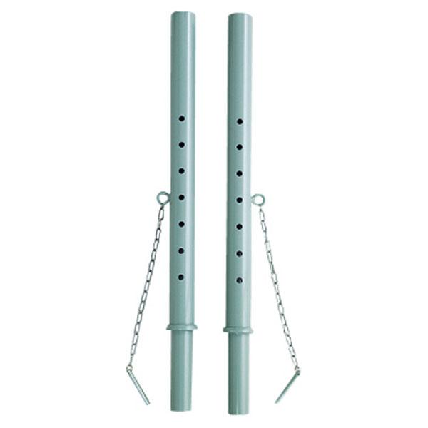 【ラッキーシール対象】モルテン(Molten)バレー器具・備品ソフトバレーボール室内用補助支柱セットBMSETSTN