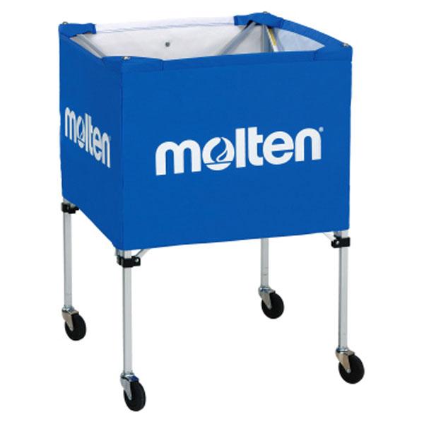 【ラッキーシール対象】モルテン(Molten)マルチSPバッグ折りたたみ式ボールカゴ(屋外用) 青 BK20HOTBBK20HOTB