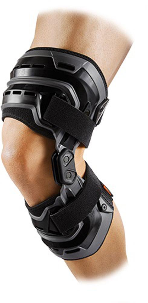 【ラッキーシール対象】 McDavid(マクダビッド)ボディケアサポーター・テープバイオロジックス ニーブレイス 左膝用M4200Lブラック